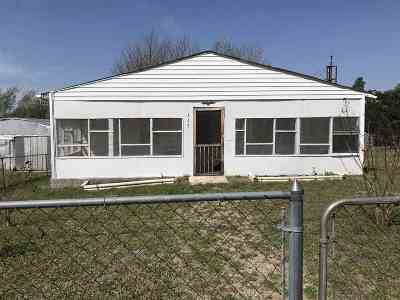Caddo County Single Family Home For Sale: 317 N Mt Scott St