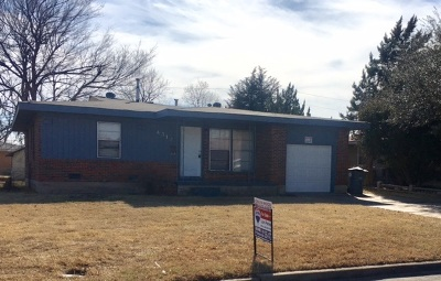 Lawton Single Family Home Under Contract: 4312 NW Santa Fe Ave