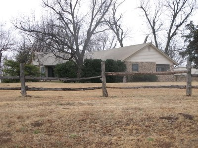 Caddo County Single Family Home For Sale: 23186 Hwy 277