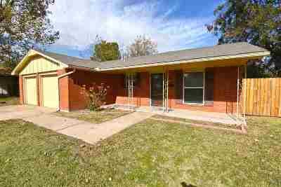 Lawton OK Single Family Home For Sale: $89,900