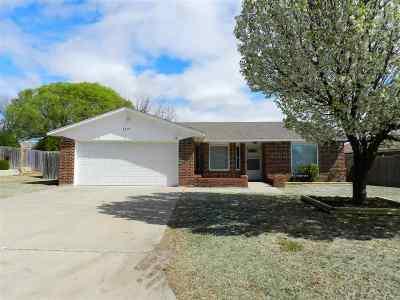 Lawton OK Single Family Home For Sale: $134,900