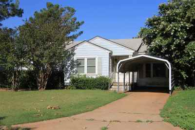 Tillman County Single Family Home For Sale: 415 Circle Dr