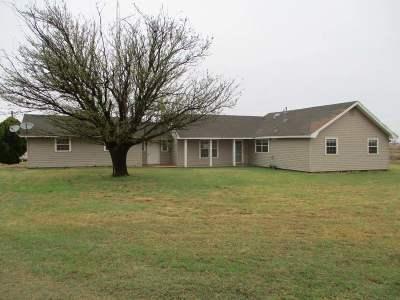 Tillman County Single Family Home For Sale: 23794 County Rd EW 180