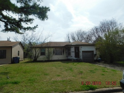 Duncan Single Family Home For Sale: 104 W Hackberry Ave