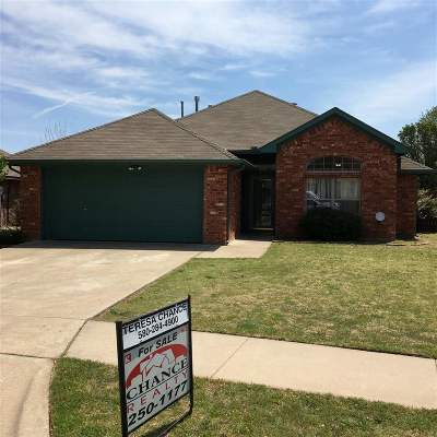 Lawton OK Single Family Home For Sale: $172,000