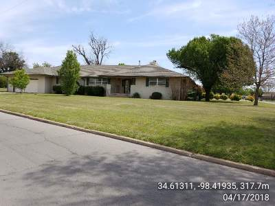 Lawton Single Family Home For Sale: 401 NW Morford Dr