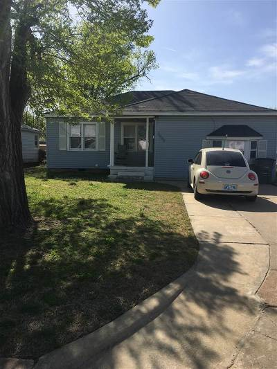 Lawton OK Single Family Home For Sale: $35,000