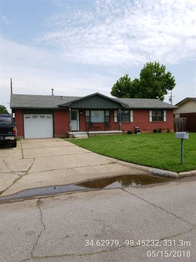 Lawton Single Family Home For Sale: 1723 NW 48th St