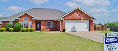 Lawton Single Family Home For Sale: 12 NW Stonebrook Dr