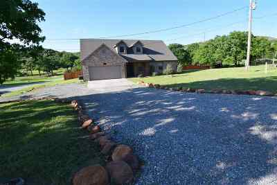 Medicine Park Single Family Home Under Contract: 413 E Lake Dr