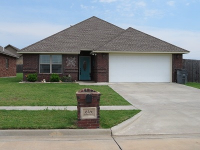 Lawton Single Family Home For Sale: 2314 SW Rolling Hills Pl