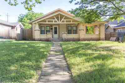 Lawton Single Family Home For Sale: 513 NW Euclid Ave