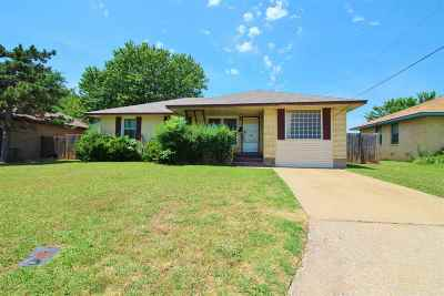 Lawton Single Family Home Uc-Continue To Show: 1620 NW 26th St