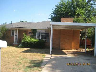 Duncan Single Family Home Under Contract: 1802 W Parkview Ave