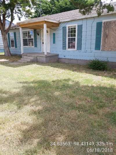 Lawton Single Family Home For Sale: 2641 NW 26th St