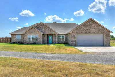 Lawton Single Family Home Under Contract: 14686 NE Cache Rd