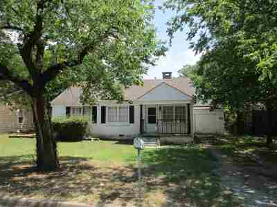 Duncan Single Family Home For Sale: 912 W Hackberry Ave