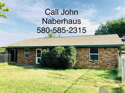 Lawton Single Family Home For Sale: 3960 NW Welch Rd