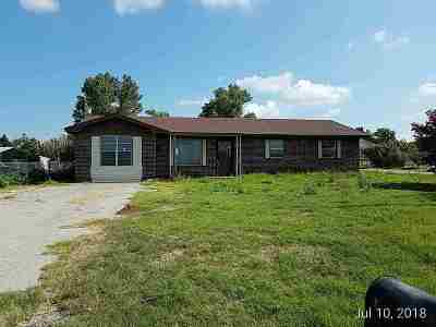 Caddo County Single Family Home Under Contract: 23030 County Rd 1380