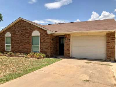 Duncan Single Family Home For Sale: 717 Westside Dr