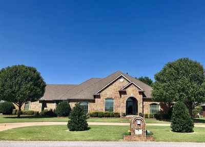 Lawton Single Family Home Under Contract: 18 NW Shadow Lake Rd