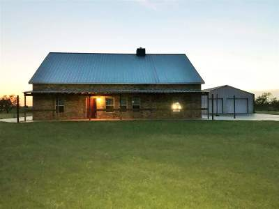 Cotton County Single Family Home Under Contract: RR 1 Box 46