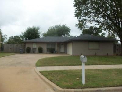 Lawton Single Family Home For Sale: 4603 NE Columbia Ave