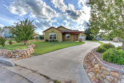 Medicine Park Single Family Home Under Contract: 112 Granite Ridge Cir