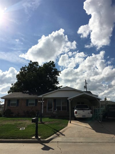 Lawton OK Single Family Home For Sale: $59,700