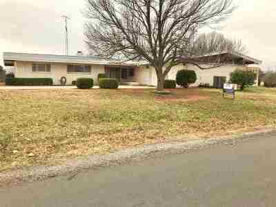 Caddo County Single Family Home For Sale: 709 Melissa Dr
