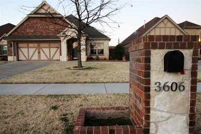 Lawton Single Family Home Under Contract: 3606 NE Willow Way