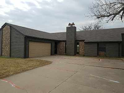 Lawton Single Family Home Under Contract: 4601 SE Brown St