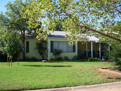 Tillman County Single Family Home For Sale: 402 Circle Dr