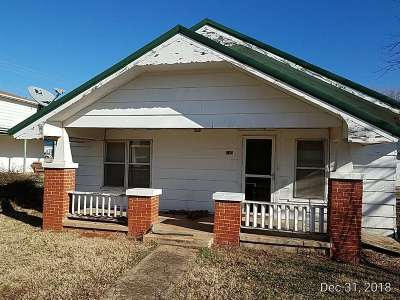 Caddo County Single Family Home Under Contract: 210 N 5th St