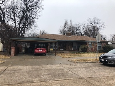 Lawton Single Family Home For Sale: 1103 NW Laird Ave