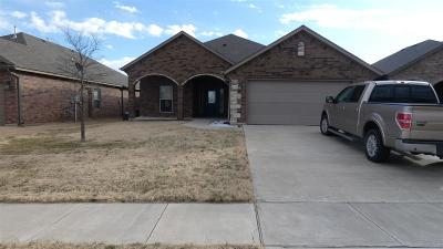 Lawton Single Family Home Under Contract: 7704 SW Franks Ct