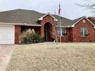 Duncan Single Family Home For Sale: 2301 Mallard