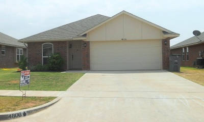 Lawton Single Family Home For Sale: 4806 SW Waterstone