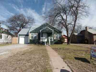 Lawton Single Family Home For Sale: 1605 NW Columbia Ave