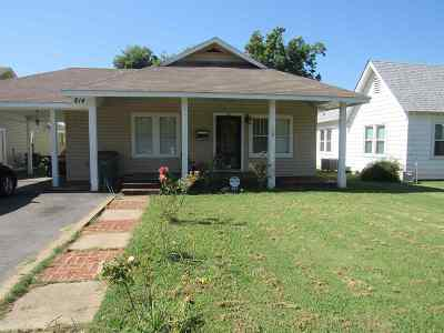 Lawton Single Family Home Under Contract: 814 NW Euclid Ave