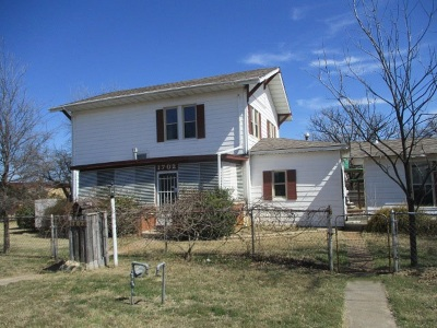 Lawton Single Family Home Under Contract: 1702 SW 9th St