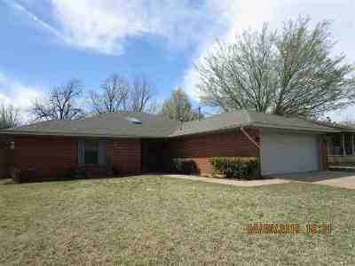 Lawton Single Family Home Under Contract: 1606 NW 78th St