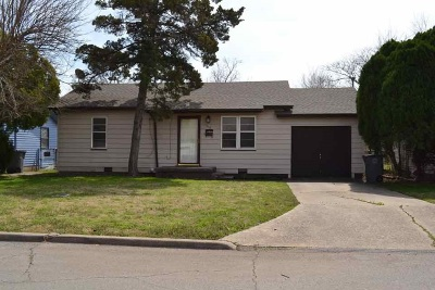 Lawton Single Family Home For Sale: 1516 NW Hoover
