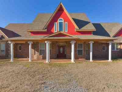 Duncan Single Family Home For Sale: 285733 E 1800 Rd