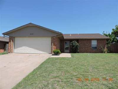 Lawton Single Family Home For Sale: 6137 SW Park Pl