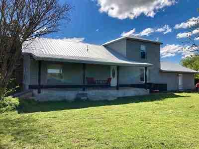 Duncan Single Family Home For Sale: 177914 N 2770 Rd