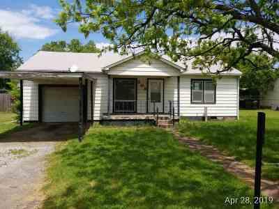 Duncan Single Family Home For Sale: 209 E Pine