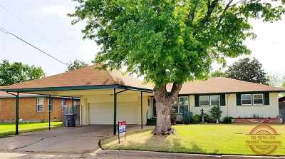 Lawton Single Family Home Under Contract: 1619 NW 27th St