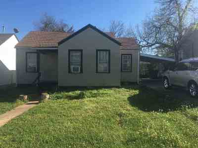 Lawton Single Family Home Temporary Active: 1510 SW B