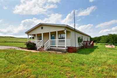 Comanche County Single Family Home Temporary Active: 701 NE 124th Street